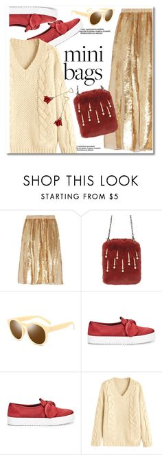 """Mini bags"" by paculi ❤ liked on Polyvore featuring TIBI, Rebecca Minkoff and minibags"