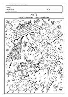 Arte: cores primárias e secundárias – Atividades Pedagógicas Suzano Coloring Books, Coloring Pages, File Folder Games, Sistema Solar, Preschool Worksheets, Useful Life Hacks, Funny Faces, Art Lessons, Professor