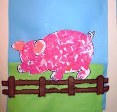 Het mannenkoor is vies Farm Animals Preschool, Farm Animal Crafts, Pig Crafts, Farm Crafts, Preschool Games, Animal Projects, Preschool Crafts, Farm Day, Farm Activities