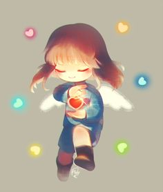 Pacifist!Frisk from Undertale