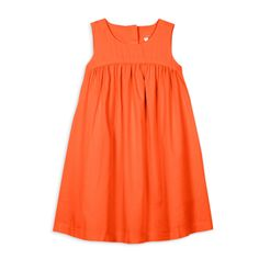 * cotton / rayon, our new cotton lawn is buttery soft & breezy * back zip * side pockets Long Frocks For Girls, Little Girl Dresses, Girls Dresses, Orange And Blue Dress, Kids Dress Wear, Summer Outfits, Summer Dresses, Girl Outfits, Long Tee