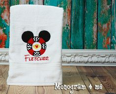 A Trip to Disney Mickey Mouse Monogram Personalized by monogram4me