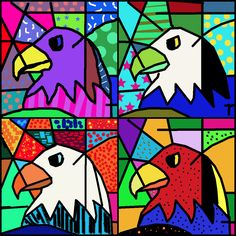 Working on Britto's works 5th Grade Art, Fourth Grade, Third Grade, Square One Art, Graffiti, Art Lessons Elementary, Upper Elementary, Photoshop Projects, Teaching Art