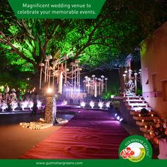 Seeking for a perfect wedding destination? Now we, at #GulmoharGreens, help you celebrate your wedding and making it more memorable and enjoyable. Browse our location at http://gulmohargreens.com/