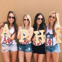 Custom Greek apparel is our specialty! ABD is your source to design the perfect sorority apparel. Sister Pics, Sister Pictures, Alpha Phi Crafts, Sacramento State, Denim Shorts Style, Greek Shirts, Custom Greek Apparel, Sorority Outfits, Delta Zeta