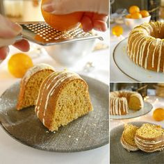 Zdravá pomerančová bábovka - fitness recept Bajola Bread, Fitness, Food, Brot, Essen, Baking, Meals, Breads, Buns
