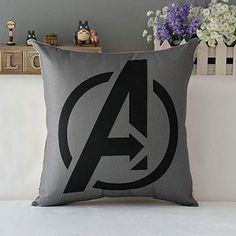 Technics:Woven Use:Home,Hotel,Other Pattern:Printed Type:Pillowcase Feature:Non-Toxic,Eco-Friendly Fabric Count:Cotton Linen Thread Count:Cotton Linen Style:Marvel Heroes The Avengers Material:Cotton Avengers Superheroes, Marvel Heroes, Marvel Avengers, Throw Pillow Cases, Decorative Throw Pillows, Avengers Bedroom, Marvel Room, Decoration, Geek Stuff