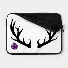 Check out this awesome 'Christmas+antlers' design on Antlers, Awesome, Check, Christmas, Bags, Design, Fashion, Horns, Xmas