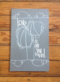 always plenty | love is all you need..  a hand illustrated by kellybarton on Etsy, $15.00