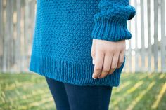 Thermal Tunic - Knitting Patterns and Crochet Patterns from KnitPicks.com