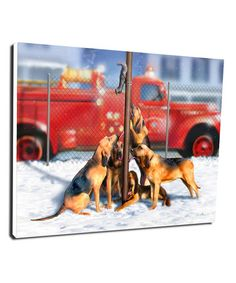 Loving this A Christmas Story The Bumpuses Quintuple Dog Dare Wrapped Canvas on #zulily! #zulilyfinds