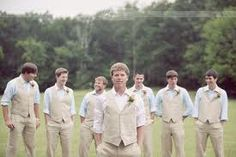 wedding colors country groomsmen suits Groom And Groomsmen Casual Wedding, Wedding Suits, Wedding Attire, Rustic Wedding, Country Groomsmen, Groom And Groomsmen Attire, Bride Groom, Blue Groomsmen, Groom Wear