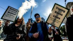 RT @notsmokingaus: Melbourne #ecig rally makes front page on...