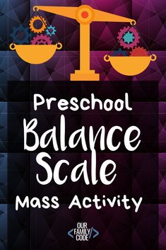 Make a balance scale with some household items to compare objects and measure them by mass in this activity designed for preschoolers! Learning Tips, Kids Learning Activities, Spring Activities, Infant Activities, Teaching Kids, Science Resources, Christmas Activities, Preschool Education, Preschool Science