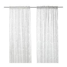 ikea first layer curtain