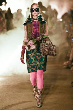 Gucci Cruise 2019  by Alessandro Michele. Arles. 30 May 2018