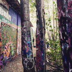 Päul und Käthi sagen Tschüss Stockholm aus dem Snösätra Graffitipark. Wir sind wieder #ontheroad. Es war uns eine Ehre!