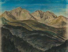 Edmund Gwerk: Roháče - Západné Tatry:1932