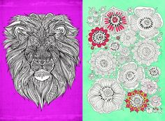 Adult Colouring In/Mindfulness: 6 FREE Colour Therapy Colouring-In Pages