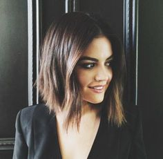 "angled ""lob"" {long bob} #hair #shorthair"