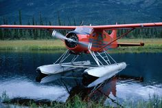 Alaska Image - Float plane landed on lake, Alaska - Lonely Planet