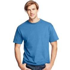 Hanes Men's TAGLESS® ComfortSoft® Crewneck T-Shirt