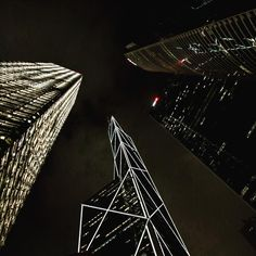 #china #hongkong #cina #night #skyscraper #igchina #followme #iphoneography