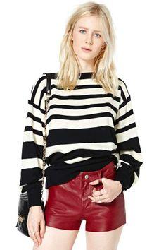 Divide & Conquer Sweater #vintage #nastygalvintage