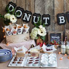 Host a Summer Donut Bar