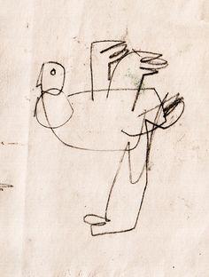 Olya Leontieva Chicken Sketch