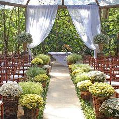 Decoração Mini Wedding – Almoço de Domingo