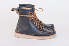 Fieldsman Boot- All Black Chromexcel | New England Outerwear