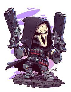 Chibi Reaper by Derek Laufman