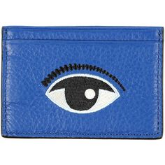 "KENZO Blue ""Eye"" card wallet"