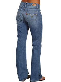 Levi's® Juniors - 528 Curvy Bootcut Jean