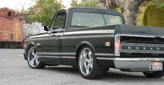 Restored 72 Chevrolet Cheyenne Super. Beautiful 1972 Chevy Truck that was the featured 1960-1972 Chevrolet Truck Restoration August