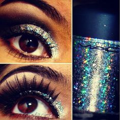 MAC 3D glitter. Im in love with this stuff <3 - @perfect_beauty- #webstagram