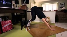 Downward Facing Dog is a dynamic resting pose in the physical practice of Holy Yoga. #downdog #yoga #holyyoga