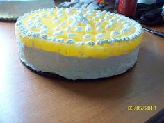 Dea's Cakes: Tort cu nuca de cocos, branza si jeleu de portocale Cake, Desserts, Tailgate Desserts, Deserts, Kuchen, Postres, Dessert, Torte, Cookies
