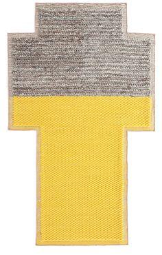 """Patricia Urquiola; """"Mangus Space' Rug for Gandia Blasco, 2013."""