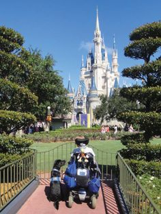 Brenda Weeks has gone to Disney World more than 10 times, and her first time there was less than a year after she began using a power chair.