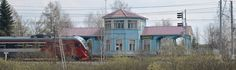 Shcherbinka is a town near Moscow with a lot of interesting things. A fake railroad station, for example.