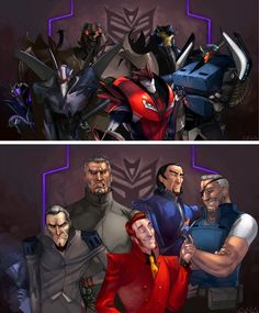 The Usual Suspects by Liquidsilk on deviantART (I have my own design in mind for KO, but this is awesome)
