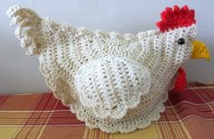 Terrific crochet for country chic home decorating!