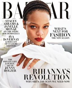 "16.6 k mentions J'aime, 171 commentaires - Harper's BAZAAR (@harpersbazaarus) sur Instagram : ""Our September 2020 cover star needs no introduction. At 32, Robyn Rihanna Fenty is already an icon,…"""