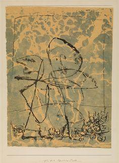 Paul Klee. Public Duel (Öffentliches Duell). 1932 - Guggenheim Museum
