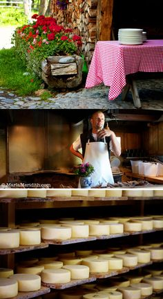 Pontresina, Switzerland | Cheesemaking and Brunch | FamilyFreshCooking.com | © MarlaMeridith.com Switzerland Vacation, Swiss Switzerland, Farmers Cheese, Swiss Cheese, How To Make Cheese, Best Photographers, Queso, Alps, Travelling