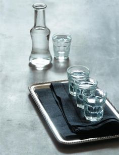 Tsipouro is a strong, crystal clear, distilled spirit, an authentic Greek product Greek Wedding Traditions, Greek Meze, Pop Up Market, Greek House, Cafe Art, Greek Culture, Greek Recipes, Greek Islands, Food Photo