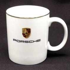 Porsche Crest Coffee Mug Cup Coat of Arms Logo Luxury Racing Cars Auto Stuttgart #Porsche