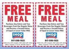 image about Ihop Printable Coupons identified as 29 Ideal Ihop discount codes visuals inside 2014 Ihop coupon, Coupon